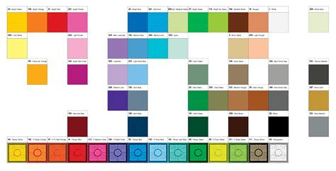 minecraft colors minecraft colors to print learning printable