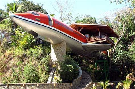 airplane house old airplane converted to home photographs