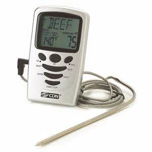 Best Brands Of Kitchen Knives meat thermometer cdn program probe leave inprogramable