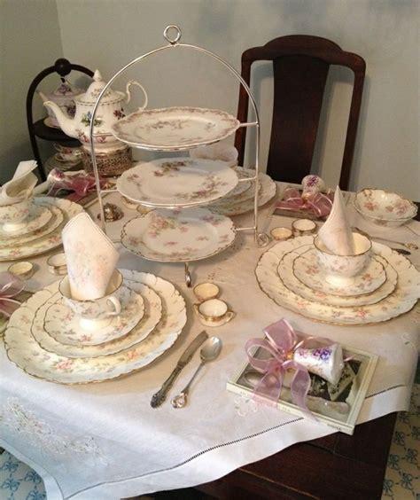 Tea Table Setting by Tea Table Setting Tea Time Delights