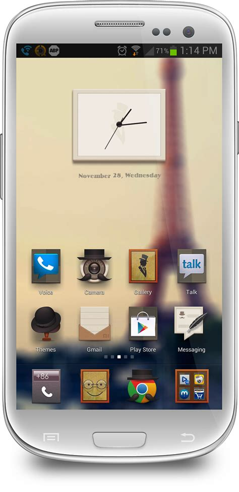 Themes Mihome Launcher | give your phone a distinguished look with the gentlemen s