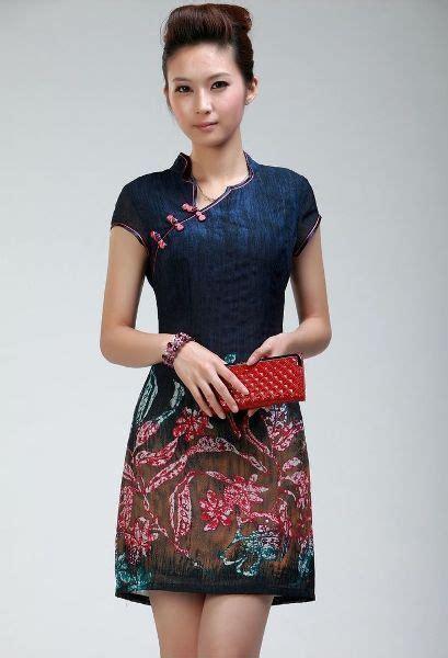Baju Midi Dress Terlaris model dress batik terbaru wanita modern pinteres