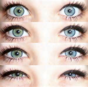blue green eye color green blue