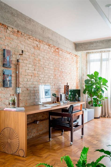 concrete apartment soak in design exposed concrete and brick walls highlighted in apartment