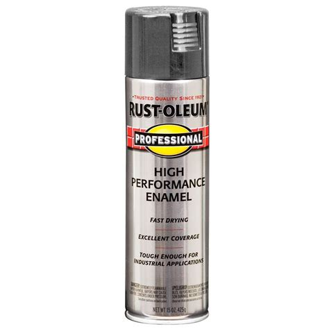 rust oleum professional 15 oz gloss machine gray protective enamel paint of 6