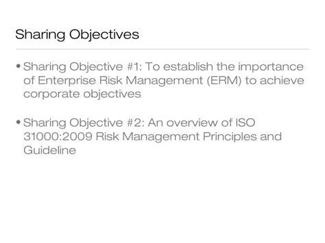 Florida State Mba Risk Management by Enterprise Risk Management Deddy Jacobus