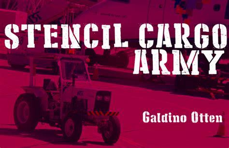 dafont military stencil cargo army font dafont com