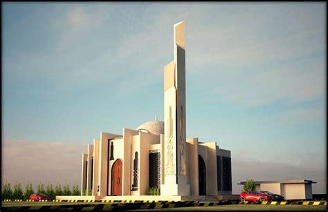 contemporary mosque design mesjid arsitektur desain