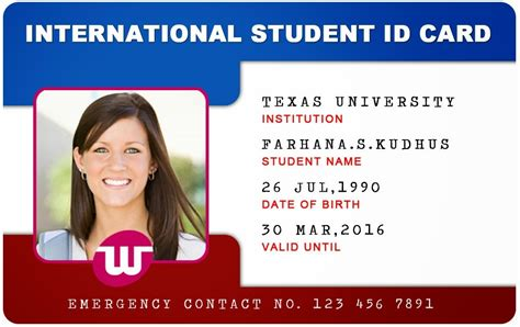 make a student id card id card template peerpex