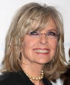trendy bobs for 50 with thin hair medium hairstyles over 50 diane keaton shoulder length
