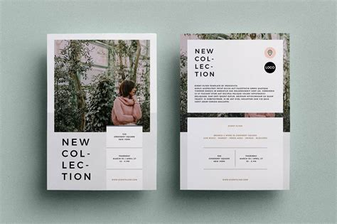 Adobe Indesign Flyer Template For Multipurpose Adobe Indesign Flyer Templates