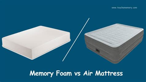 Futon Vs Air Mattress by Touch A Memory Best Memory Foam Mattress