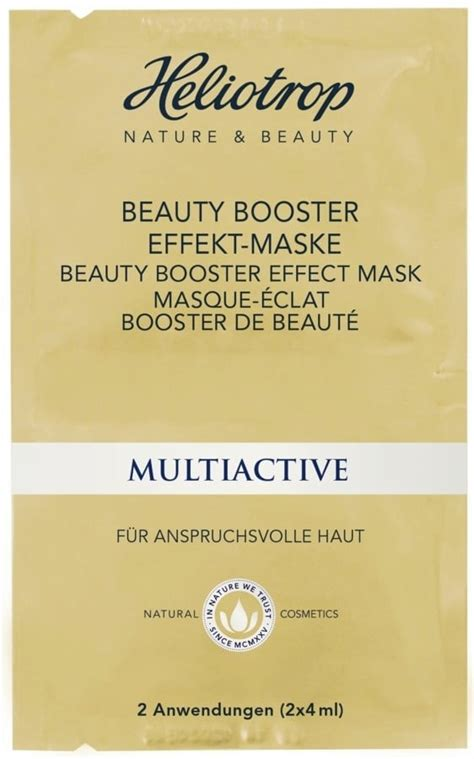 Paket Dsa 10 Ml 5 Ml Booster heliotrop multiactive booster effekt maska 8 ml
