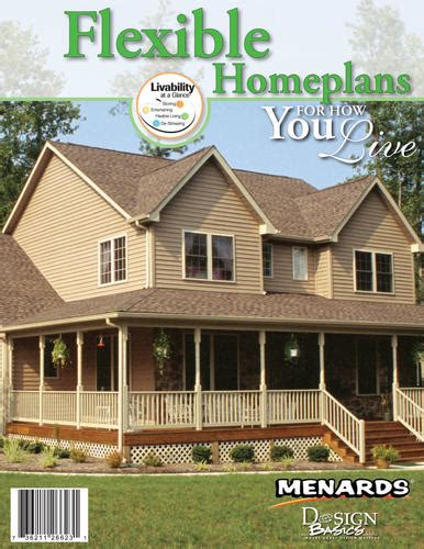 menards house plans menards flexible living home plans