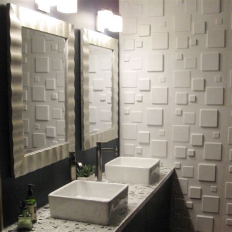 Give Your Bathroom A Luxurious Look With Wallart Embossed Bathroom Wall Panels