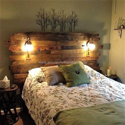 Wood Pallet Headboard 30 Plus Innovative Pallet Recycling Projects Wood Pallet Furniture