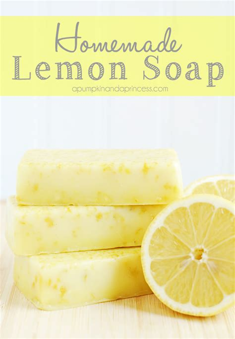 Handmade Soap Recipes - lemon soap mother s day gift ideas diy do