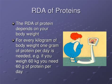 protein rda ppt food and diet powerpoint presentation id 787414