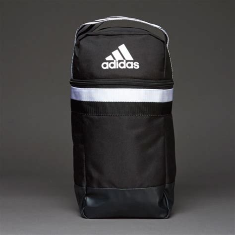 bags luggage adidas tiro shoe bag black white s30282