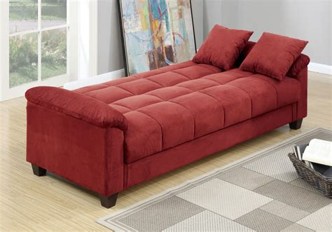 Adjustable Sofa Bed Futon Sleeper Flip Up Under Seat Sofa Bed With Storage Underneath