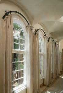 windows curtains rods window treatments for arched windows decofurnish