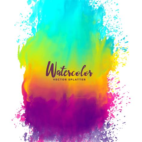 the color of water in july rainbow splash free vector 3035 free downloads