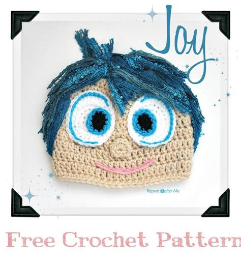 crochet pattern joy free inside out movie crochet patterns joy and disgust
