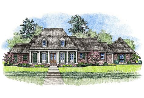 louisiana home plans michelle country french home plans louisiana house plans