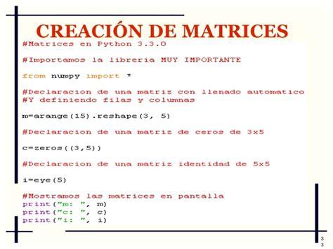 tutorial python numpy tutorial de numpy