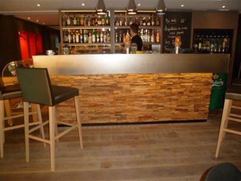 Revetement Comptoir Bar by Pi 232 Ces En Bois Flott 233 Teck Pour D 233 Coration De Vos