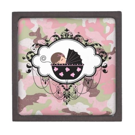 camo baby shower gifts pink camouflage trinket box gifts baby shower gifts and
