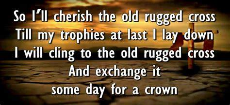 cherish the rugged cross lyrics so i ll cherish the rugged cross roselawnlutheran