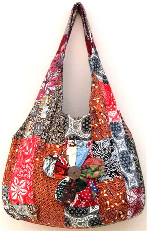 Bali Batik Bag Bag by Bag1 3 Batik Fabric Bags Indonesia Batik Patchwork