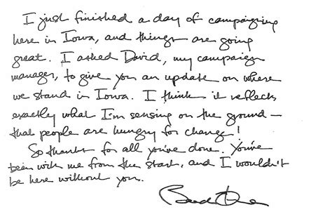 test calligrafia peoples notes and letters obama s handwriting
