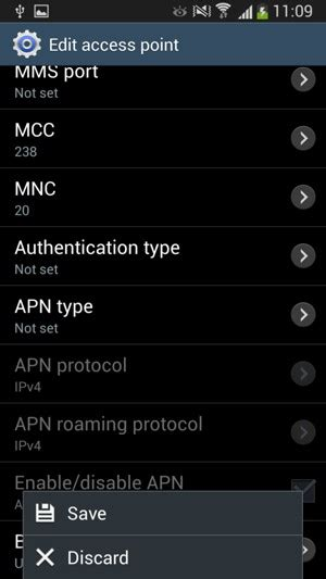 change apn settings android set up samsung galaxy s4 mini android 4 4 device guides