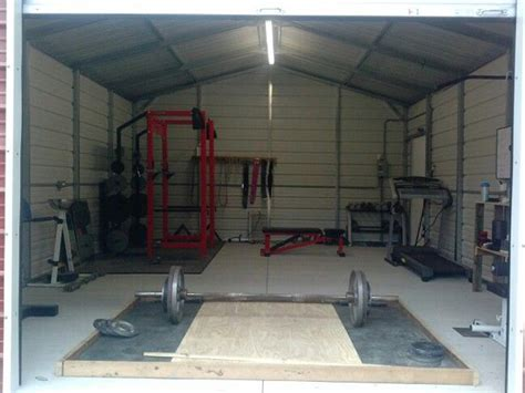 storage shed gym shed fans