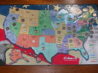 quarter map pictures of my in america my state quarter collection map