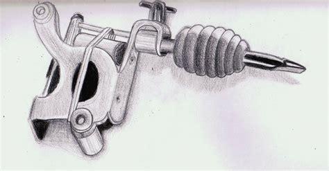 simple tattoo machine drawing tattoo machine sketch by villecruz on deviantart