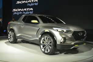 Hyundai Up Hyundai 2017 Santa Truck Concept Detroit Show
