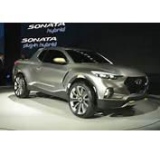 Hyundai 2017 Santa Cruz Truck Concept  Detroit Show Loads Up