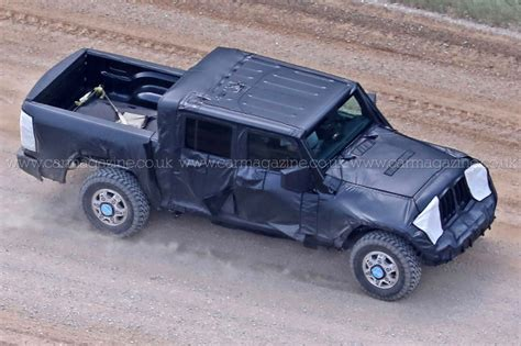 2018 jeep comanche pickup new 2019 jeep wrangler jt pick up truck spotted by car