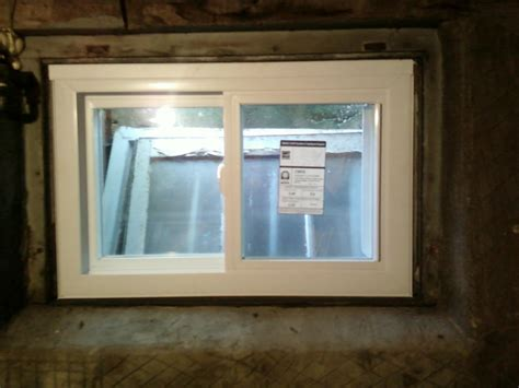 basement slider windows top basement window installation near union nj m m