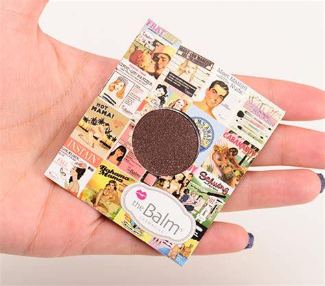 The Balm Eyeshadow thebalm eyeshadow singles custom palettes reviews