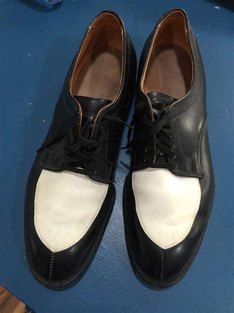 1950s oxford shoes 1950s s allen edmond s vintage black white oxford