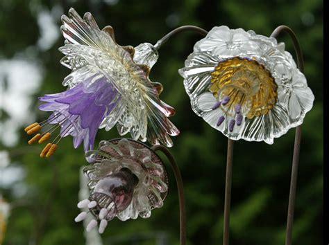 Something Mike Urban S Glass Flowers Glass Flowers For Garden