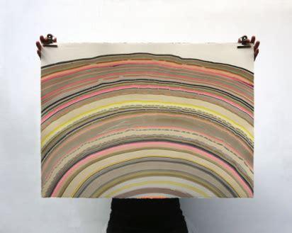 Snedker studio s marbled paintings inspired by wood flooring