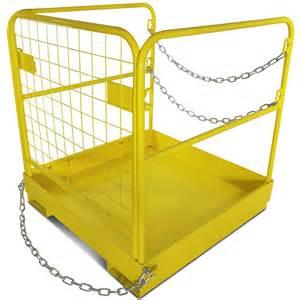 Roller Tables Forklift Safety Cage Work Platform Collapsible Lift Basket
