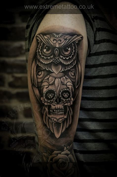 old tribal tattoos best 25 owl skull tattoos ideas on owl