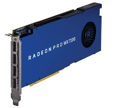 Vga Radeon Firepro Wx 5100 8 Gb amd radeon pro review a new name and a new look digital