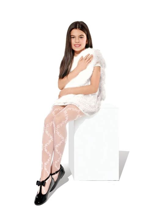 patterned tights and socks girls white patterned tights 20 denier bridesmaid holy